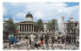 Inghilterra England London Trafalgar Square And National Gallery Viaggiata 1964 Condizioni Come Da Scansione - Trafalgar Square