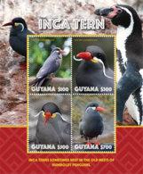 Guyana 2019 Birds INCA TERN (ss/4v),MNH - Guyana (1966-...)