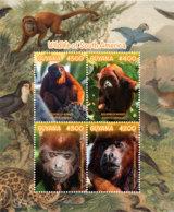 Guyana 2019 WILDLIFE OF SOUTH AMERICA SHEETLET (ss/4v),MNH - Guyana (1966-...)