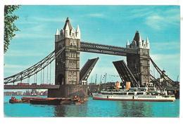 Inghilterra England London Tower Bridge Viaggiata 1978 Condizioni Come Da Scansione - London