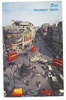 Inghilterra England London Piccadilly Circus And Coventry Street Viaggiata 1964 Condizioni Come Da Scansione - Piccadilly Circus