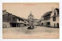 - CPA SAINT-SAVIN (65) - Place De La Fontaine (avec Personnages) - Photo Labouche N° 51 - - Francia