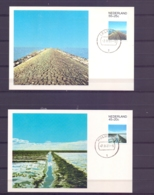 Nederland - Maximumkaarten - Michel  1176/79 -  7/4/81   (RM14496) - Géographie