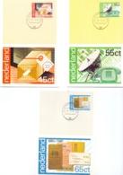 Nederland - Maximumkaarten - Michel  1180/82 - 's Gravenhage 19/5/81  (RM14497) - Post
