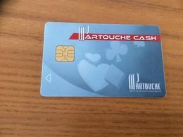 """Carte à Puce * """"PARTOUCHE CASH / CASINO La Trinité-sur-Mer (56)"""" - Casinokarten"""