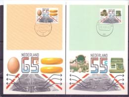 Nederland - Maximumkaarten - Michel 1189/92 - 20/10/81  (RM14502) - Alimentation