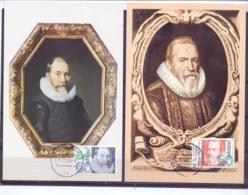 Nederland - Maximumkaarten - Michel 1228/31 - 19/4/83   (RM14519) - Famous People