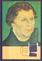 Nederland - Maximumkaarten - Michel 1240  - Woerden 11/10/83   (RM14522) - Martin Luther King