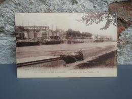 Cpa Saint-Valéry-sur-Somme Le Port Et Le Quai Perrée. 1928 - Saint Valery Sur Somme