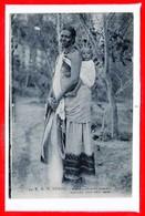 AFRIQUE --  SOMALIE - Maman Bébé Somali - Somalie