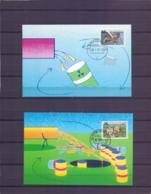 Nederland - Maximumkaarten - Michel 1396/98 - 's Gravenhage 30/1/91  (RM14590) - Protection De L'environnement & Climat
