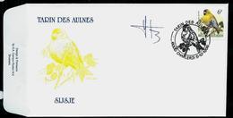 FDC Du N° 2665  Tarin Des Aulnes  -  Sijsje   Obl. Charleroi  05/10/1996 - 1985-.. Oiseaux (Buzin)