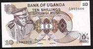 UGANDA  P6c   10   SHILLINGS   1973    UNC. - Uganda