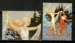 Finland 2006 Finlandia / Norden Mythology MNH Mitología / Kh29  30-1 - Emisiones Comunes