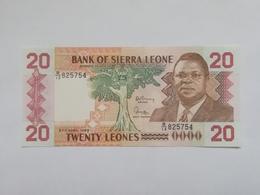 SIERRA LEONE 20 LEONES 1988 - Sierra Leona