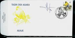 FDC Du N° 2665  Tarin Des Aulnes  -  Sijsje   Obl. Ferrières  05/10/1996 - 1985-.. Oiseaux (Buzin)
