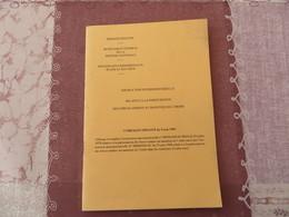 Instruction Interministérielle Relative à La Participation Des Forces Armées Au Maintien De L'ordre - 00/05 - Books, Magazines, Comics