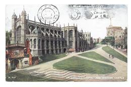 Inghilterra England London St. Georges Chapel And Windsor Castle Viaggiata 1962 Condizioni Come Da Scansione - London