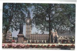 Inghilterra England Pan American London The Houses Of Parliament On The River Thames Non Viaggiata Condizioni Come Da Sc - Houses Of Parliament