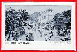 ASIE - CEYLON - Sri Lanka - Une Rue à Péttah - Sri Lanka (Ceylon)