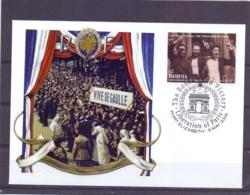 Grenadines Of St. Vincent - Liberation Of Paris - Port Elizabeth 9/5/2005    (RM13864) - Guerre Mondiale (Seconde)