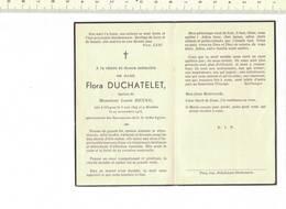 DP 7615 - FLORA DUCHATELLE - OBIGIES 1894 + 1953 - Devotion Images