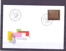 Helvetia - FDC  - Chocosuisse - Bern 9/5/2001  (RM13960) - Alimentation