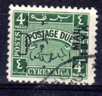 24.12.1951; Libyen Postage Due - Portomarken, Mi-Nr. 9; Gestemepelt, Lot 51344 - Libyen
