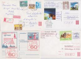HONGRIE - UNGVAR - HUNGARY - MAGYAR POSTA - Beau Lot De 238 Entiers Postaux - Postal Stationery Post Card - Levelezolap - Ganzsachen