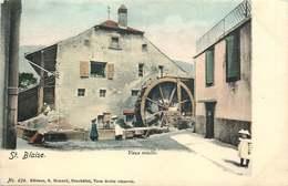 SUISSE  SAINT BLAISE   Vieux Moulin - NE Neuchâtel
