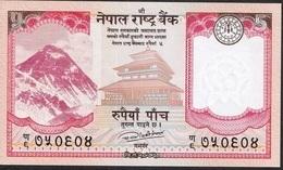 NEPAL P76 5 RUPEES  Dated 2017 Signature 17 UNC. - Nepal