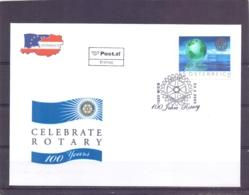 Rep. Österreich - Ersttag - 100 Jahre Rotary   - Michel 2517  - Wien 23/2/2005   (RM14088) - Rotary, Lions Club
