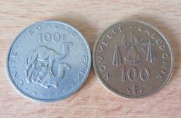 Colonies Fr. - Monnaies 100 Francs Djibouti Et Nouvelle-Calédonie - 1976 / 1977 - Achat Immédiat - Colonies