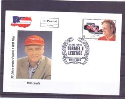 Rep. Österreich - Ersttag -Niki Lauda- Formel I Legende - Michel 2544 -  Wien 13/9/2005   (RM14100) - Fêtes