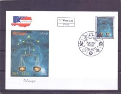 Rep. Österreich - Ersttag - Astro Post Libra - Michel 2541  - Wien 22/7/2005  (RM14112) - Astrologie