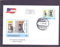 """Rep. Österreich - Ersttag - """"Blauer Rahmen"""" - Michel 2566 - Wien 10/1/2006  (RM14117) - Autriche"""