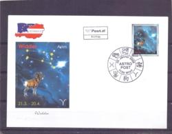 Rep. Österreich - Ersttag - Astro Post Aries - Michel 2570 - Wien 20/1/2006  (RM14119) - Astrologie