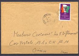 Cote D'Ivoire, 1982 To Geneva - Ivory Coast (1960-...)