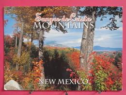 Etats Unis - New Mexico - Sangre De Cristo Mountains - Joli Timbre - Scans Recto-verso - Non Classés