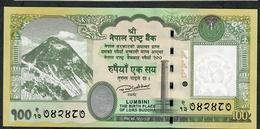 NEPAL P80 100 RUPEES Dated 2015  Signature 17  UNC. - Nepal