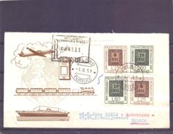 Poste Italiane - Milano 1/9/59   (RM14288) - Timbres Sur Timbres