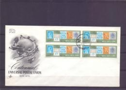 RSA - Centennial Postal Union -  FDC     (RM14297) - Postzegels Op Postzegels