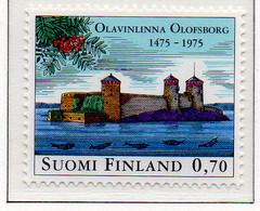 PIA - FINLANDIA - 1975 : 5° Centenario Del Castello Di Olavinlinna - (Yv 733) - Castelli