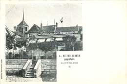 SUISSE  SAINT BLAISE   A.RITTER-ECKERT  Propriétaire  HOTEL - NE Neuchâtel