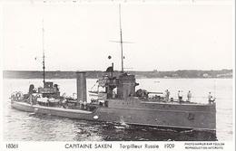 Warship Marine Kriegsschiff TORPILLEUR RUSSE  KAPITAN SAKEN - Guerra