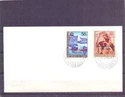 Rép. De Guinée - FDC - Centenaire Du Timbre - Caire 1966    (RM14347) - Poste