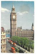 Inghilterra England London Big Ben Viaggiata 1965 Condizioni Come Da Scansione - London