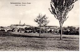 SEITENSTETTEN - Stift - Vierkanter Gottes,Verlag Lehner Seitenstetten, 25.8.1918 - Amstetten
