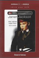 Janet Jackson - The Velvet Rope Tour - Live In Concert - DVD - Concert Et Musique