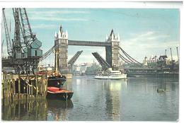 Inghilterra England London Tower Bridge Viaggiata 1968 Condizioni Come Da Scansione - London